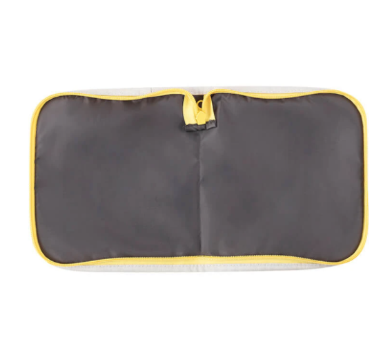 Fluf Snack Mat - Snack with Yellow Zip