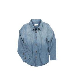 Appaman Bates Shirt - Diamond Chambray