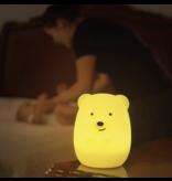 LumieWorld Lumipets LED Bear Night Light with Remote