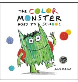 Hachette The Color Monster Goes To School