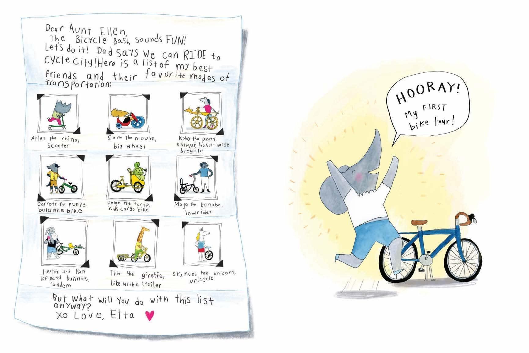Hachette Bicycle Bash