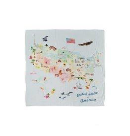 Loulou Lollipop Swaddle Blanket - USA