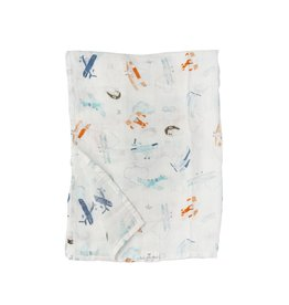 Loulou Lollipop Swaddle Blanket - Born To Fly