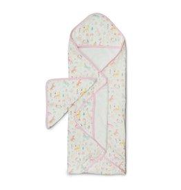 Loulou Lollipop Hooded Towel  Set - Unicorn Dream