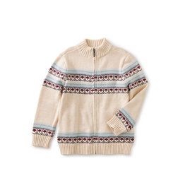 Tea Collection Toasty Traveler Zip Sweater