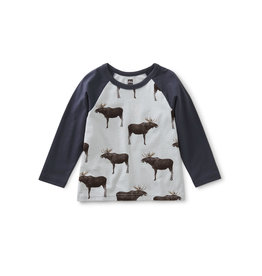 Tea Collection Moose Baby Tee