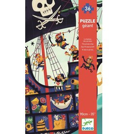 Djeco (Hotaling Imports) Giant Floor Puzzle - Pirate Ship