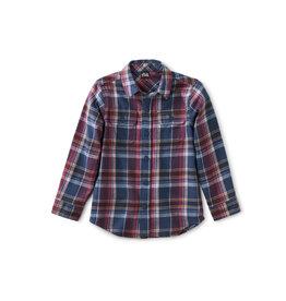 Tea Collection Flannel Button Up Shirt  - Halland