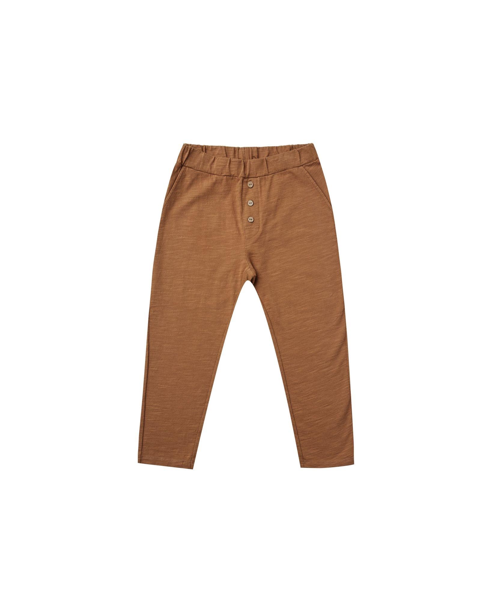 Rylee & Cru Cru Pant - Rust