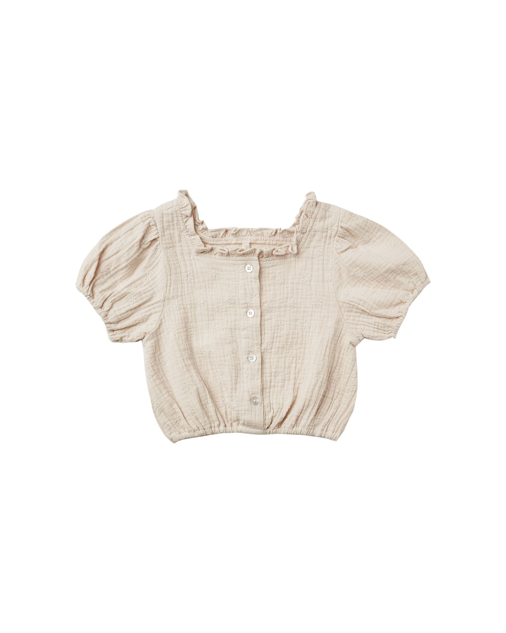 Rylee & Cru Dylan Blouse - Embroidered Daisy