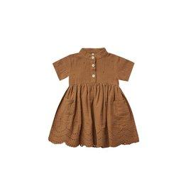 Rylee & Cru Esme Dress - Rust