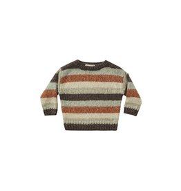 Rylee & Cru Aspen Baby Sweater - Multi-Stripe
