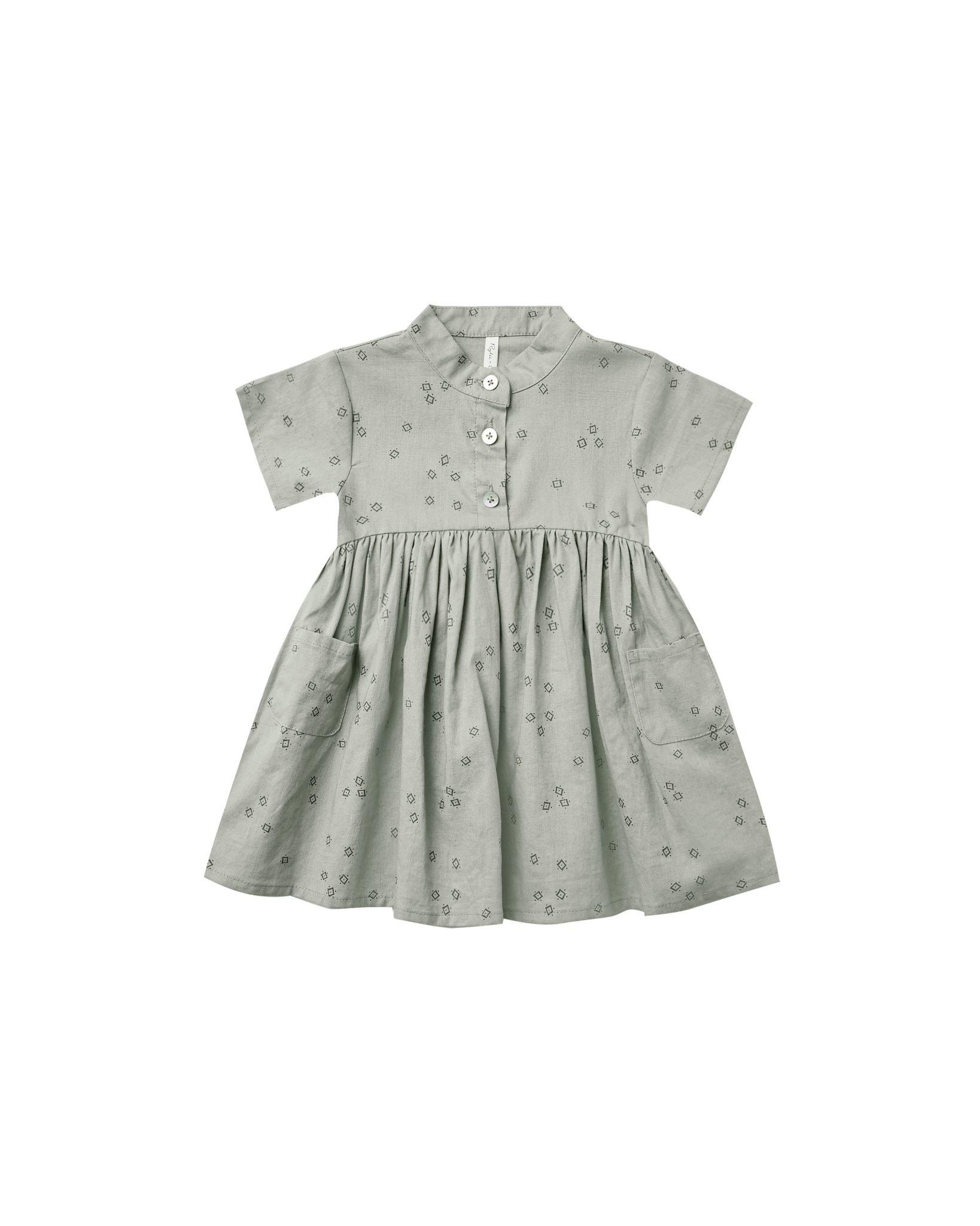 Rylee & Cru Esme Baby Dress - Bandana