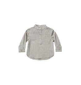 Rylee & Cru Mason Baby Shirt - Railroad Stripe