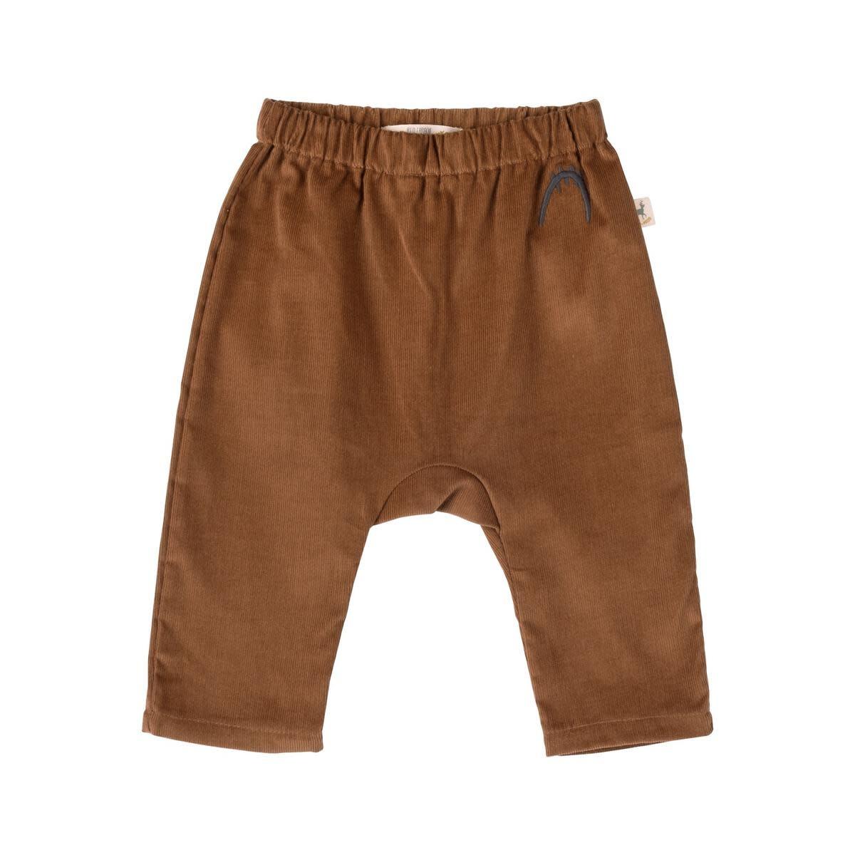 Red Caribou Corduroy Pants - Brown