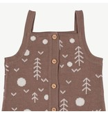 Red Caribou Knit Jumper - The Woods - Brown