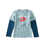 Tea Collection Helicopter Herding Layered Tee