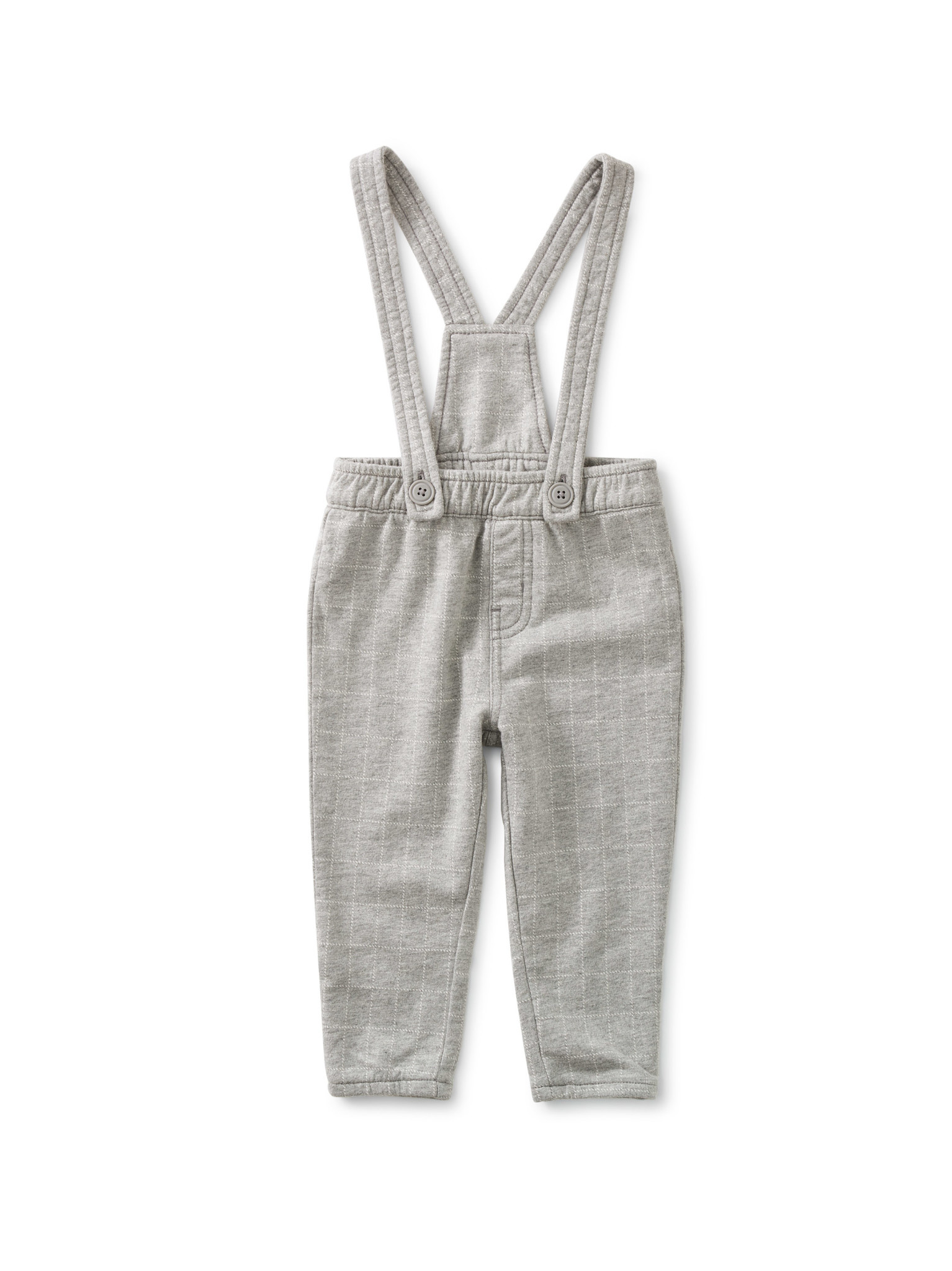 Tea Collection Knit Baby Overall - Windowpane