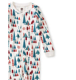 Tea Collection Footed Baby Sleepers - Holiday
