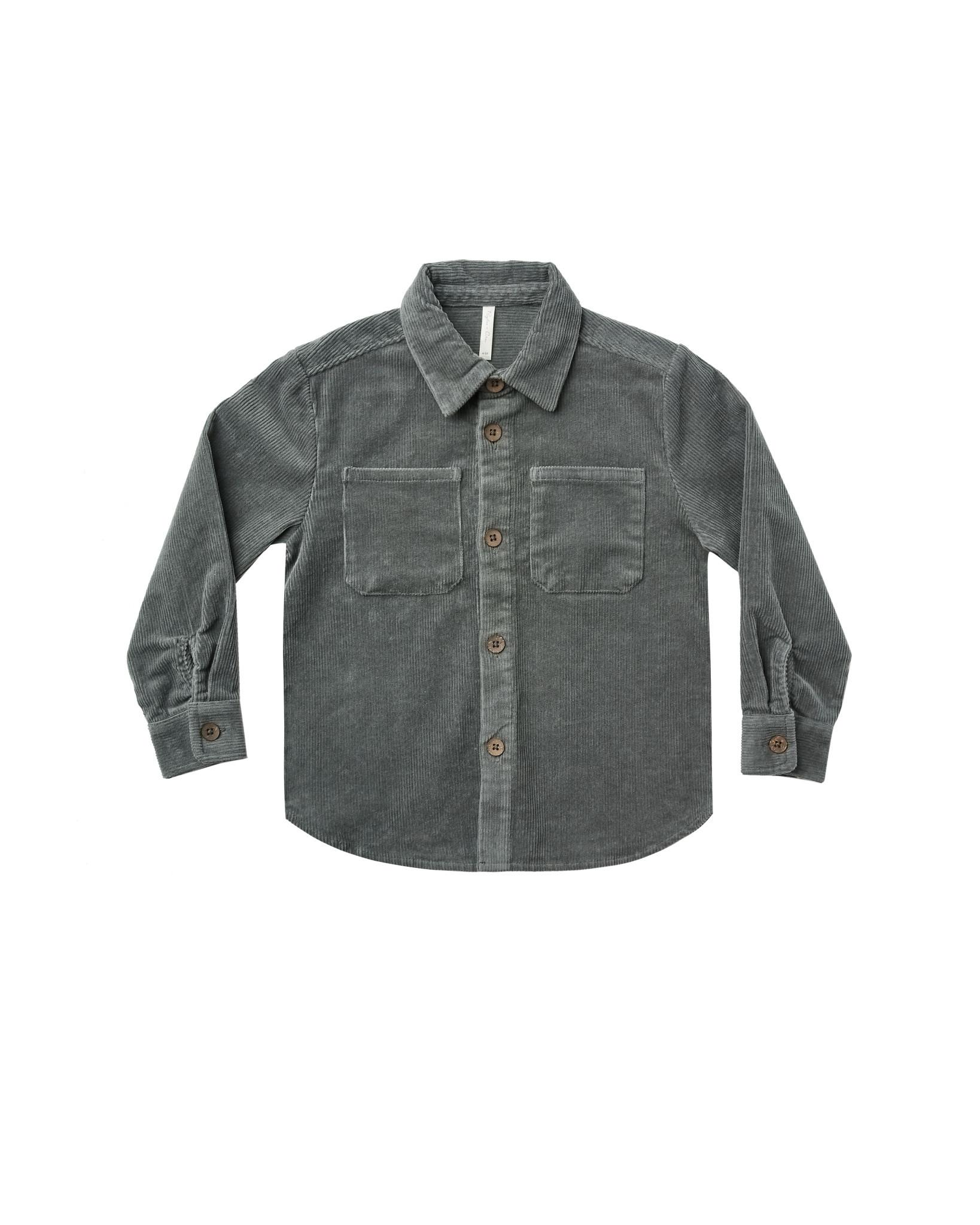 Rylee & Cru Corduroy Collared Shirt