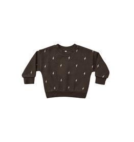Rylee & Cru Lightning Bolt Fleece Baby Sweatshirt