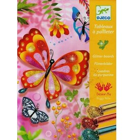 Djeco (Hotaling Imports) Butterfly Glitter Boards