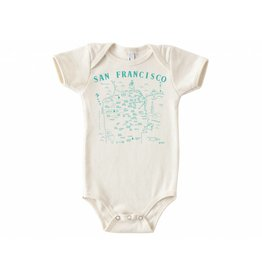 Maptote SF Map Onesie