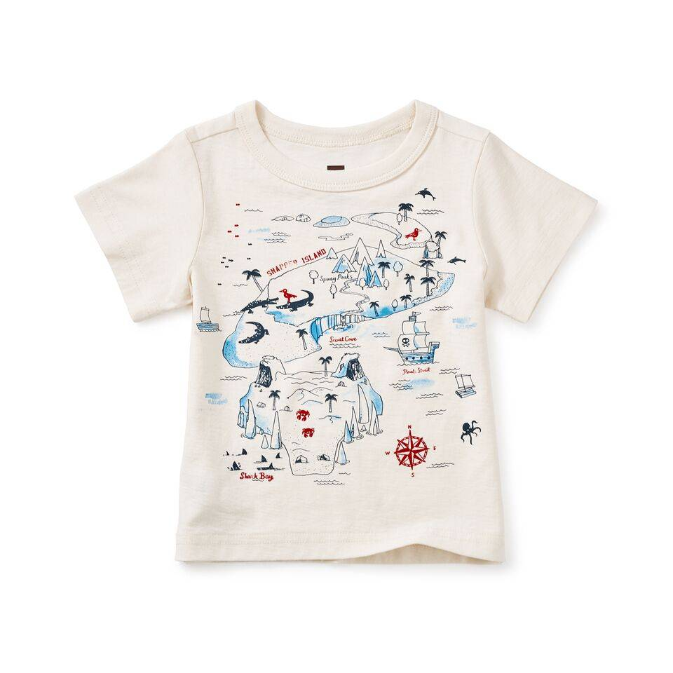 Tea Collection Snapper Island Graphic Bby Tee