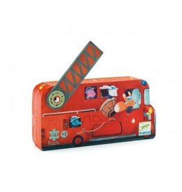 Djeco (Hotaling Imports) Puzzle- The Fire Truck