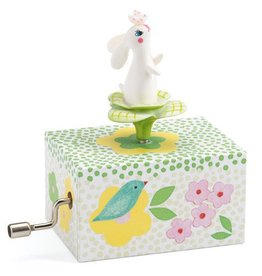 Djeco (Hotaling Imports) Hand-Crank Music Box - Rabbit