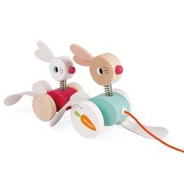 Juratoys Zigolos - Rabbits Pull Toy