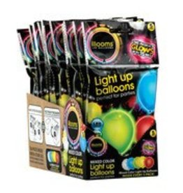 Schylling Light Up Balloons 5 pack
