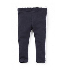Tea Collection Heritage Blue Baby Leggings