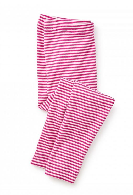 Tea Collection Fuchsia Striped Baby Leggings