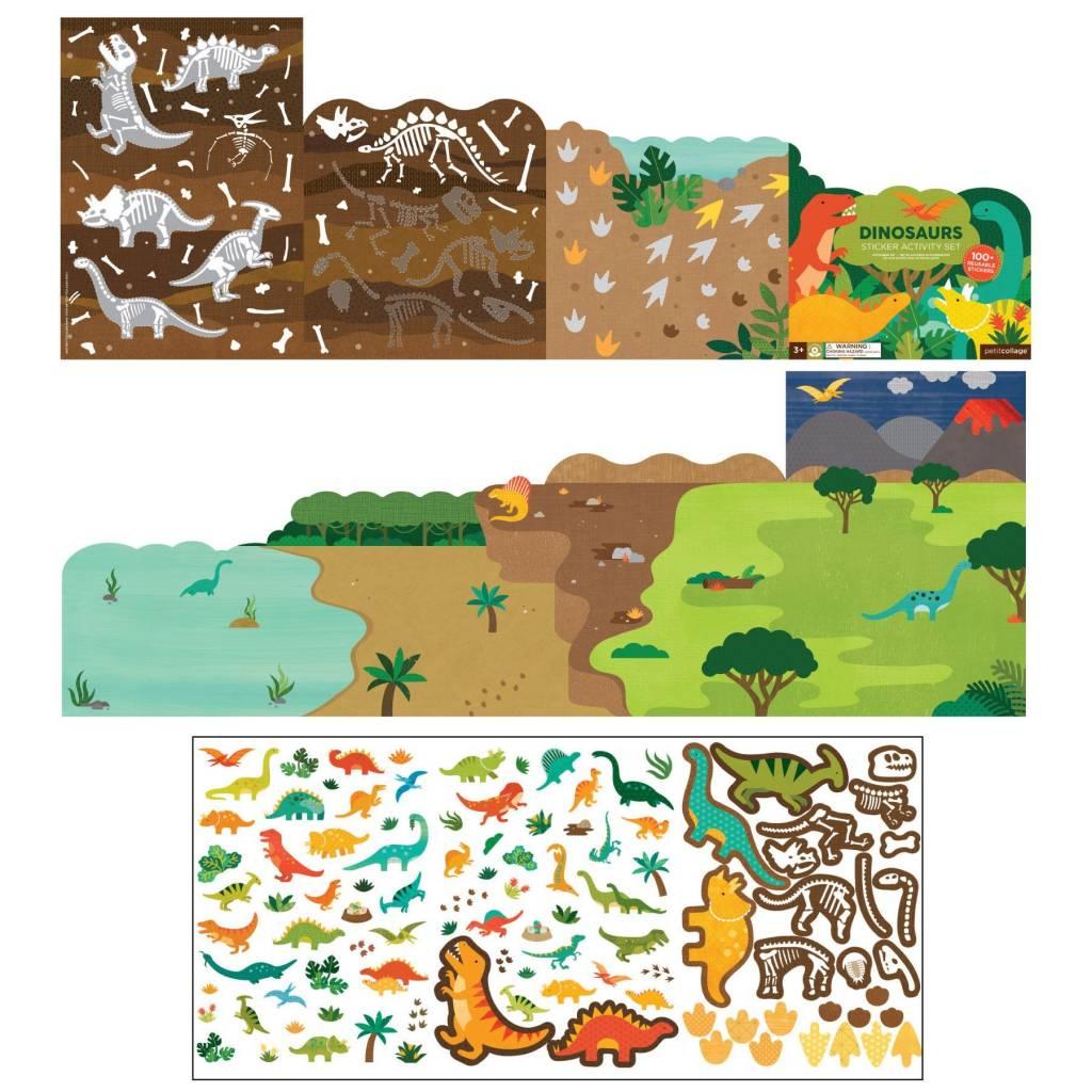 Petit Collage Sticker Activity Set - Dinosaurs