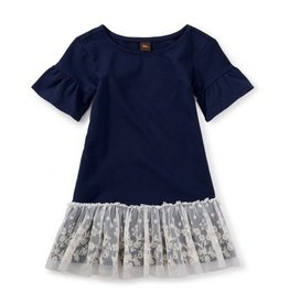 Tea Collection Ottie Embroidered Tulle Dress