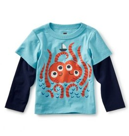 Tea Collection Sea Monster Graphic Tee