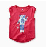 Tea Collection Space Girl Graphic Tee