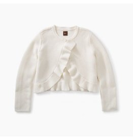 Tea Collection Ruffle Sweater Cardigan