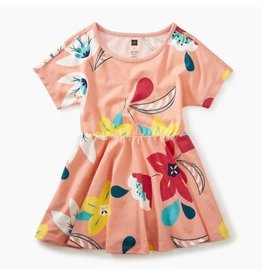 Tea Collection Vibrant Blossoms Skirted Dress