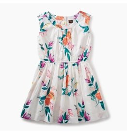 Tea Collection Peach Flower Dress