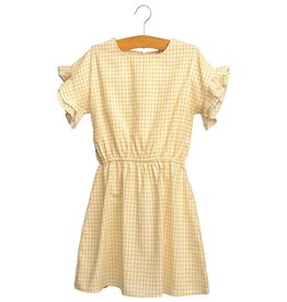 Siaomimi Hailey Dress - Yellow Check