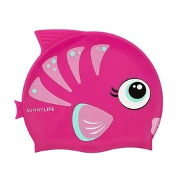 Sunnylife Fishy Swim Cap - Pink