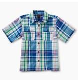 Tea Collection Plaid Buttoned Shirt