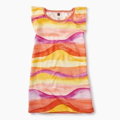 Tea Collection Desert Sunset Graphic Dress