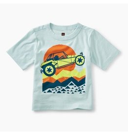 Tea Collection Dune Buggy Graphic Baby Tee