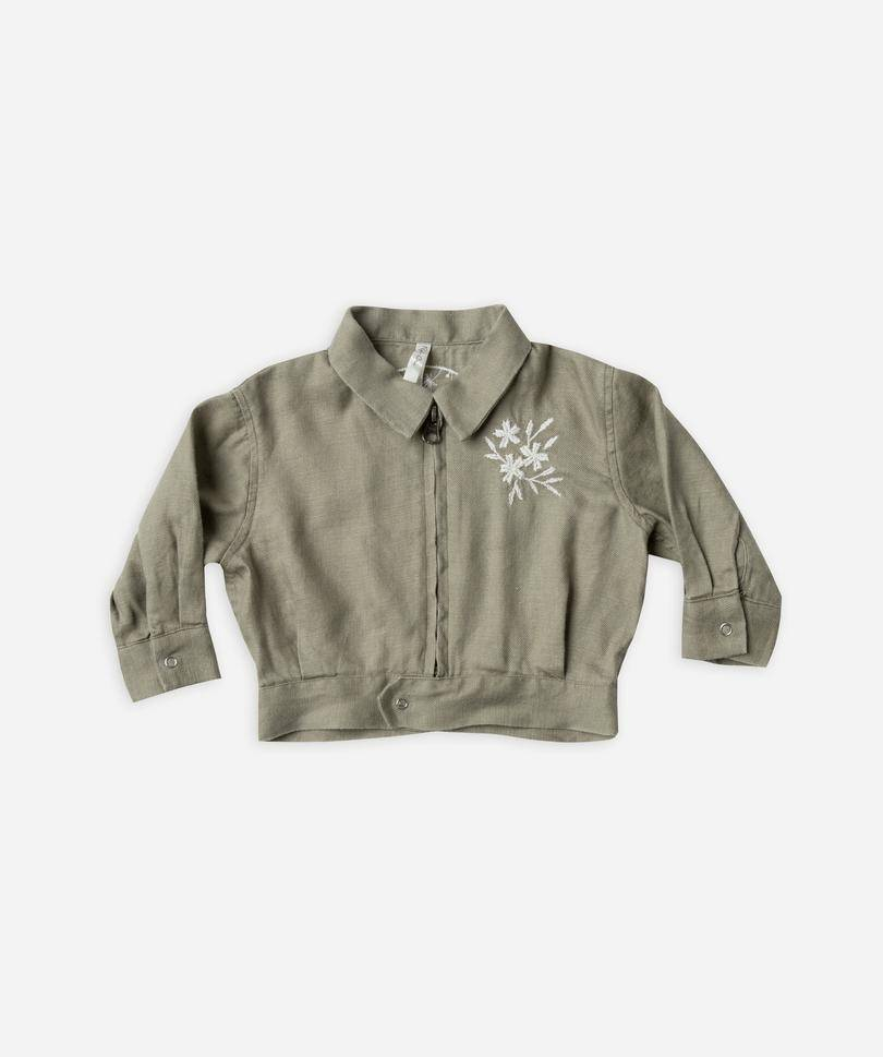 Rylee & Cru Baby Cropped Bomber