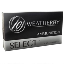 Weatherby Weatherby Ultra-High Velocity Ammunition .270 Wby. Magnum 130 Grain Spitzer (20-Rounds)