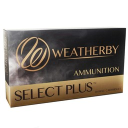 Weatherby Weatherby Select Plus .257 Weatherby Mag. 110 Grian Nosler AccuBond (20-Rounds)