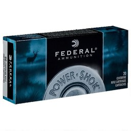 Federal Federal Power Shok 6.5 Creedmoor 140 Grain Soft Point (20 Rounds)